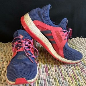 Adidas pure boost athletic shoes